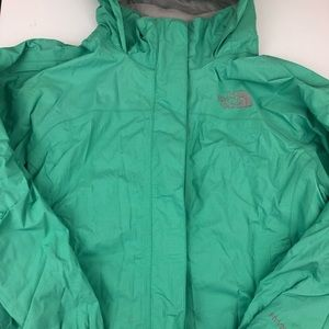 The North Face Girls Rain Jacket with hood!